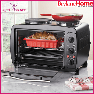 Toaster Oven With Double Burners Would Save You Energy And Kitchen Counter Space
