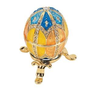 Grand Duchess Faberge-Style Nikolaevna Enameled Egg