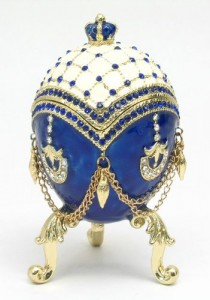 Faberge Egg Wedding or Engagement Ring Box