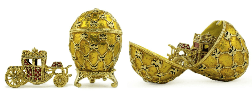 Faberge Eggs Inspire To Add Beauty Into the Mundane