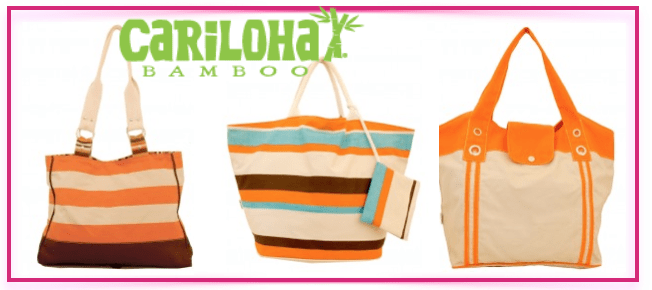 A Trip To the Beach With a Stylish Cariloha Bamboo Bag – Win IT!
