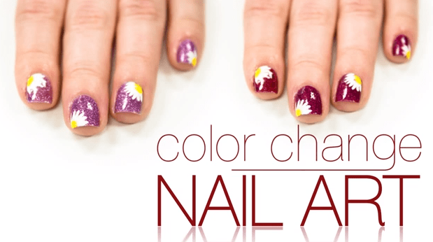 DelSol Color Changing Nail Polish Tutorial for A Summary Look