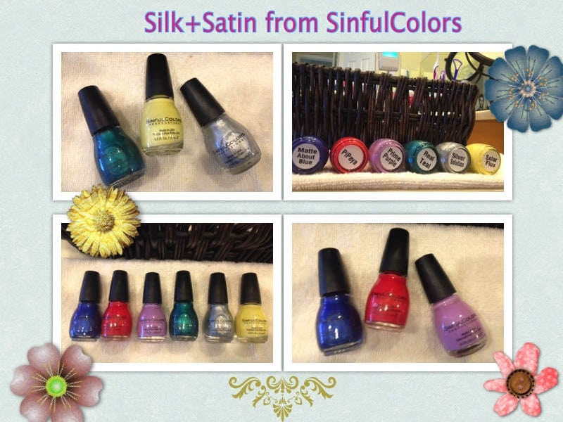sinfulcolors nail polish collection summer 2014