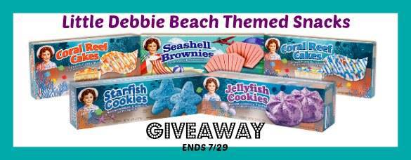 Little Debbie Beach Themed Snacks Cool Prize