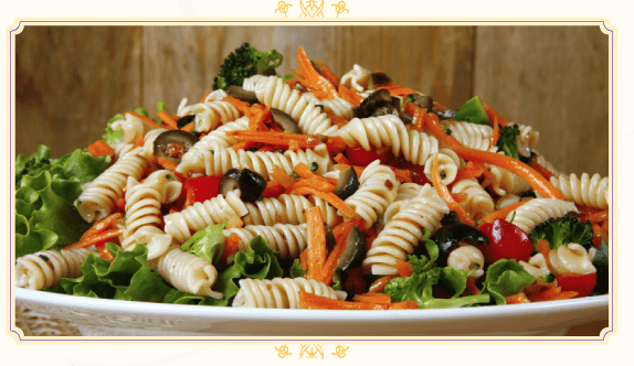 The Hundred Foot Journey Recipe – Chickpeas Pasta Salad #100FootJourney
