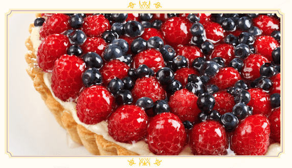 Raspberry and Blueberry Tarte Recipe from The Hundred Foot Journey Movie #100FootJourney