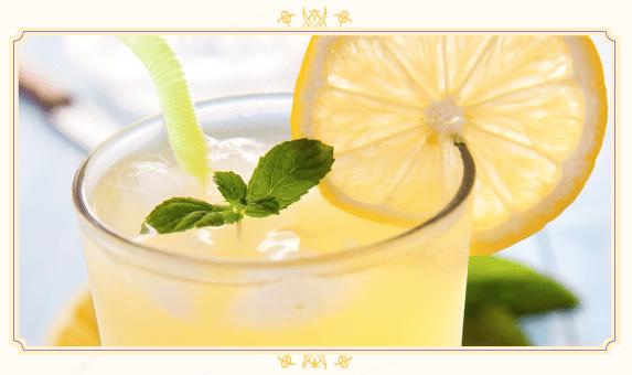 Sparkling Lemonade Recipe from The Hundred Foot Journey Movie #100FootJourney