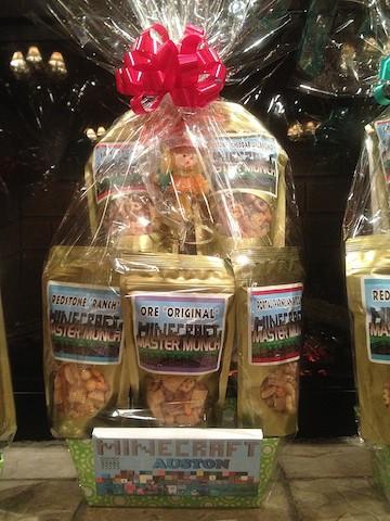 Trixis Treasures snacks gift basket