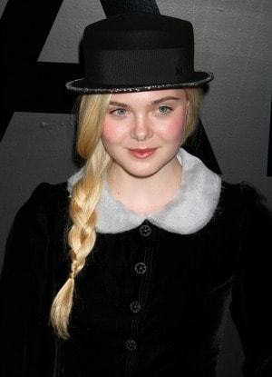 Braided Hair Elle Fanning