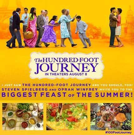 100 foot journey food is memories