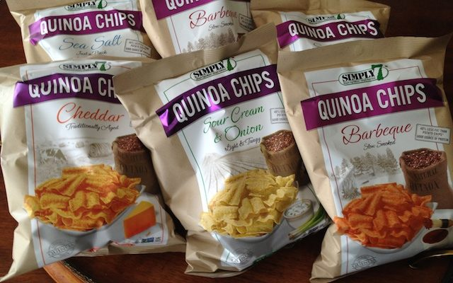 Simply 7 Quinoa Chips Make It A Perfect Snackable Treat