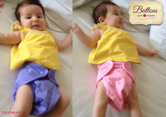 cloth buttons diapers