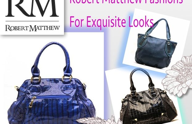 Accessorize With Robert Matthew Handbags, Scarves And Jewelry Every Season