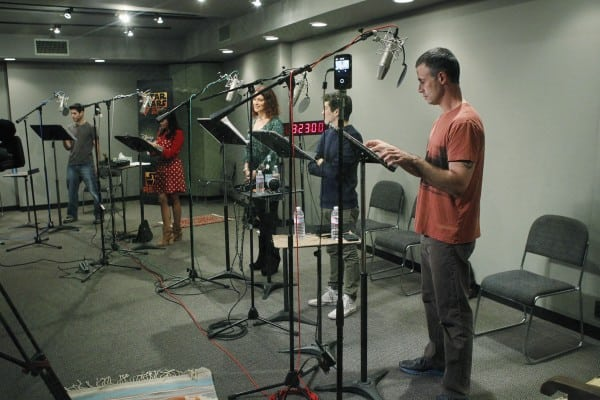 Recording Star Wars Rebels
