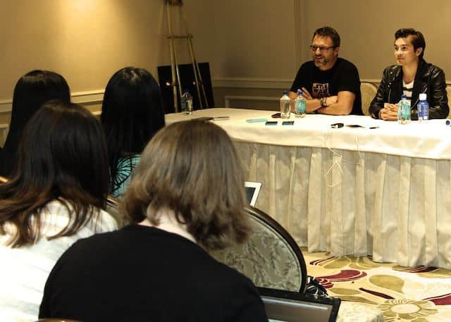 Steve Blum and Taylor Gray Star Wars Rebels