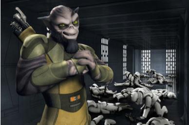 Zeb Orrelios, Star Wars Rebels: Spark of Rebellion