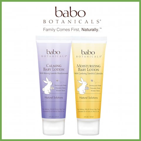 Babo Botanicals On The Go 4oz lotion RSVP prize