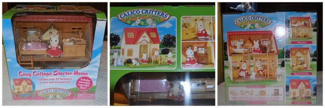 Calico Critters Cozy Cottage gift