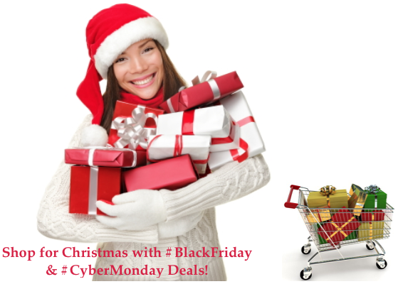 Black Friday And #CyberMonday Deals – Shop For Christmas on #BlackFriday