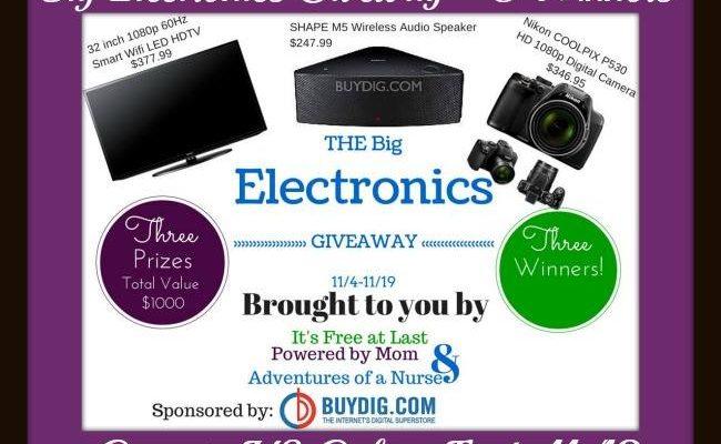 Mega Electronics Holiday Prizes Include Samsung Smart WiFi HDTV