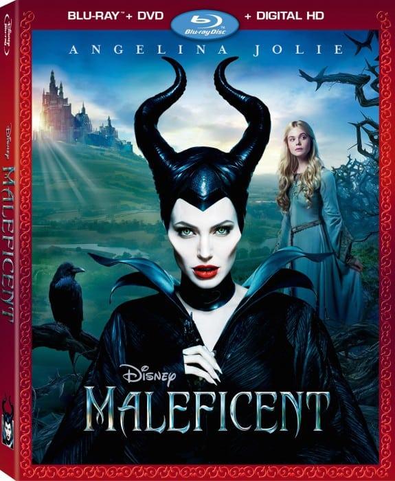 maleficent blu ray