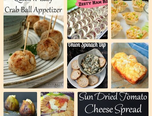 10 Appetizer Recipes To Rock Your New Years Eve!