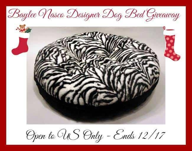 Baylee Nasco Deisgner Dog Bed