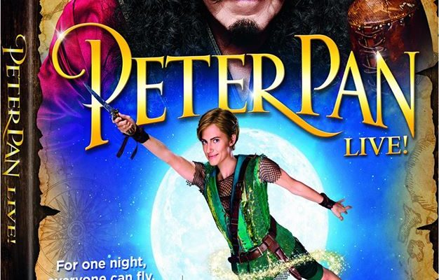 Peter Pan Live Production Comes Out On A DVD