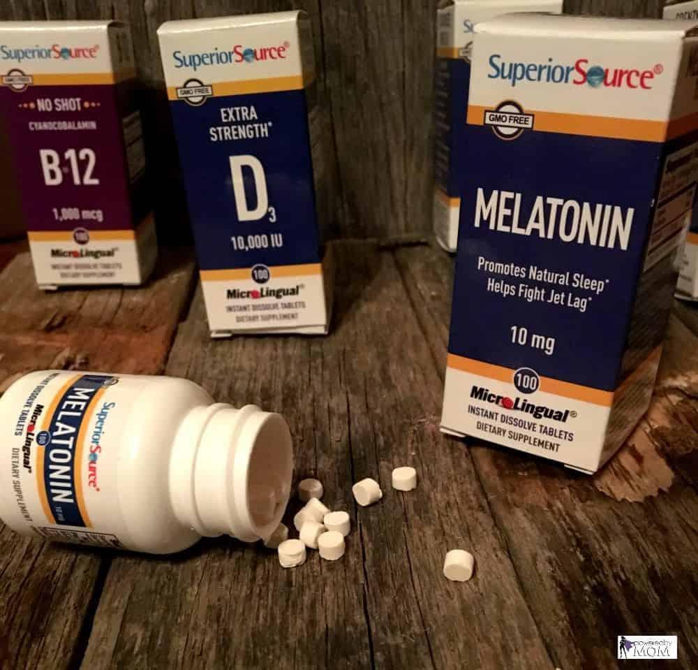 superior source melatonin for natural sleep