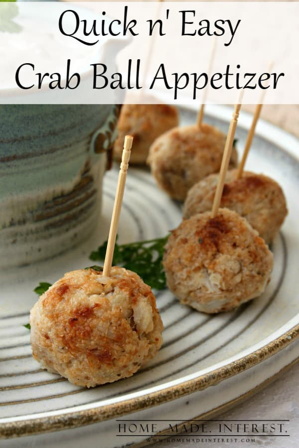 Easy Crab Ball Recipes