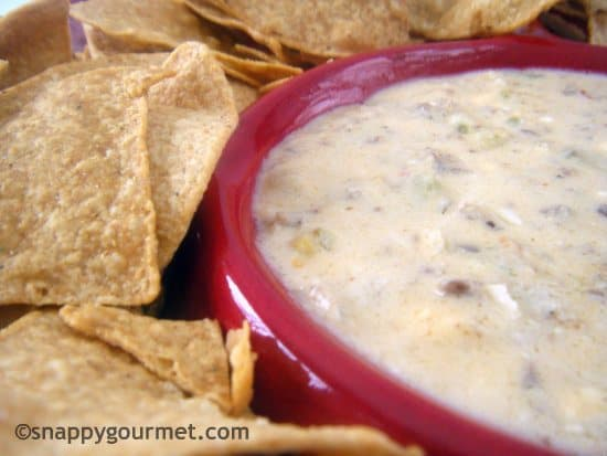 spicy sausage and beer dip
