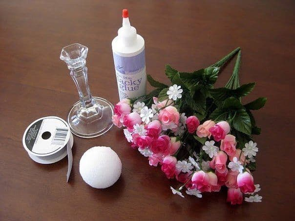 Valentine floral bouquet