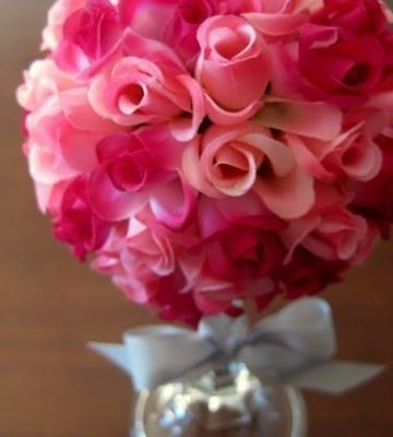 Valentine Day Floral Bouquet Craft Project – Easy And Crafty