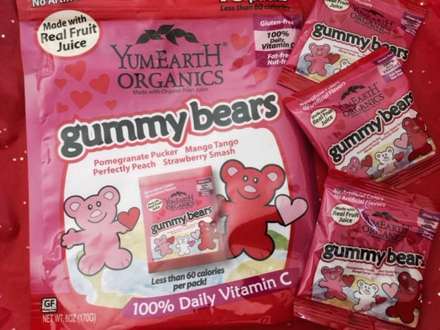 yumearth organic candy gummy bears