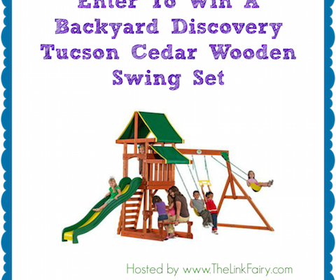 Encourage Your Kids To Get Outside And Play With The Backyard Discovery Swing Set