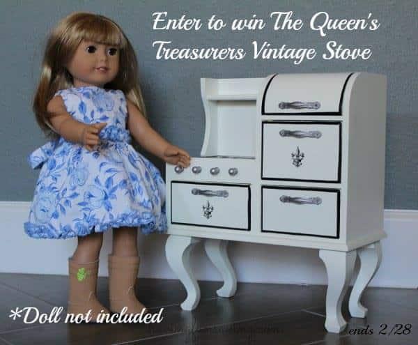 Queen's Treasurers Vintage Stove