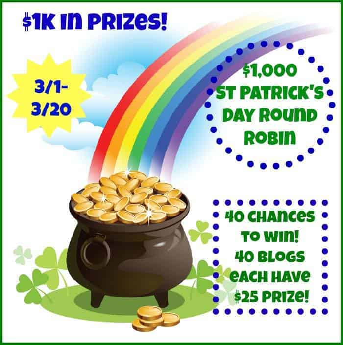 Round Robin St Patricks day giveaway