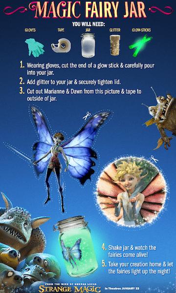 Strange Magic Fairy Jar Craft