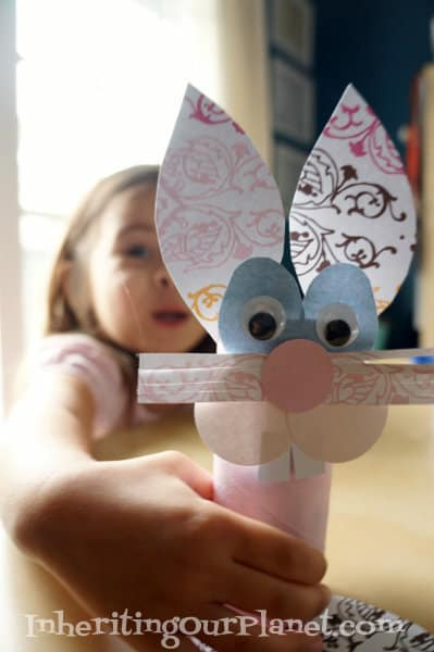 toilet paper easter bunny easter crafts