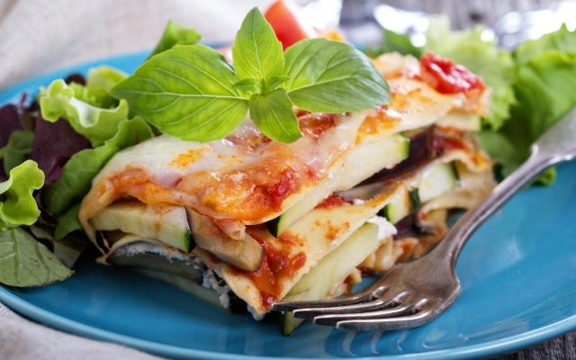 Vegetarian Lasagna for The Exquisite Tastebuds Without Meat Or Mozzarella