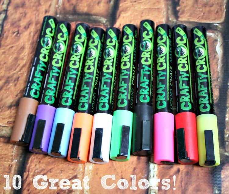 croc markers