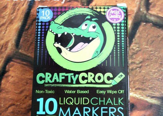 CraftyCroc Liquid Chalk Markers Giveaway #ChalkART1