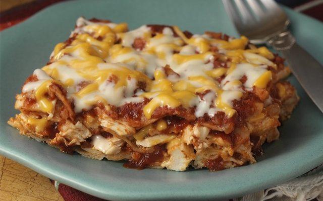 Chicken Enchilada Casserole #RecipeIdeas
