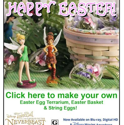 Favorite Easter Activities to Do With the Whole Family from Your Favorite Fairies