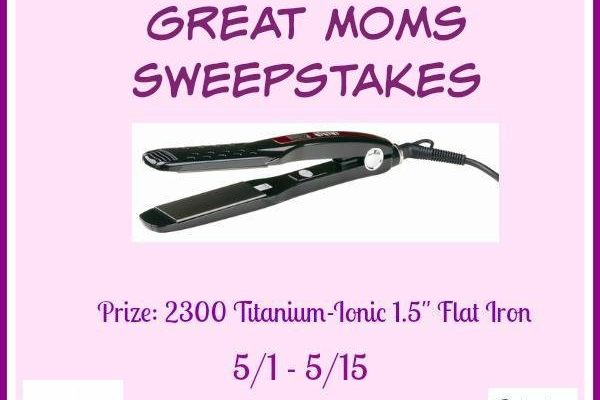free flat iron giveaway 2019