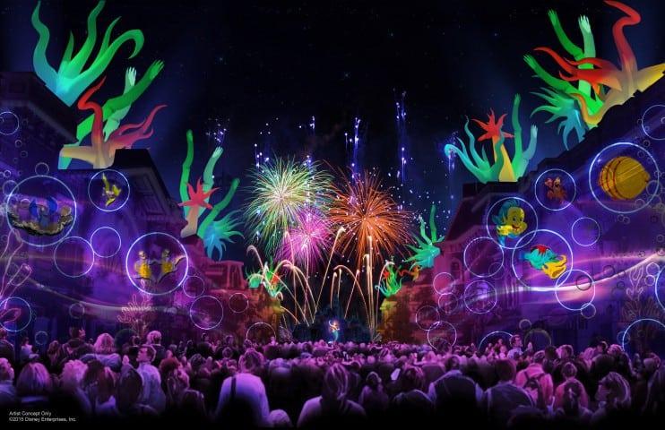 Disneyland Forever show