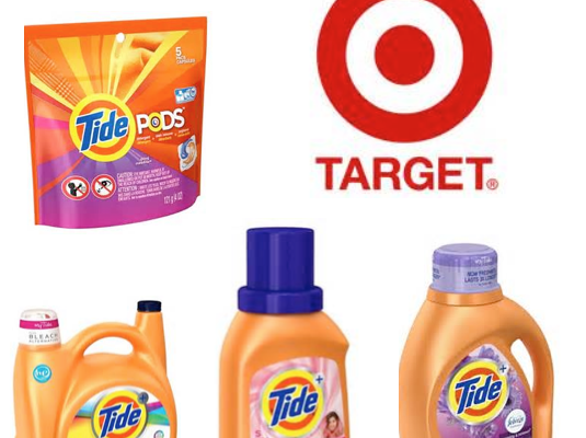 Purchase 2 TIDE Products at Target – Receive $5 TARGET Gift Card