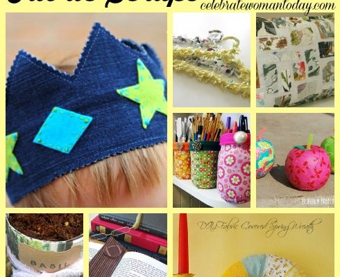 10 Projects To Spruce Up Your Home Using Fabric Scraps