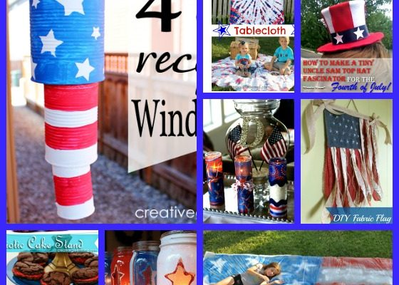 10 Fun 4th Of July Crafts And DIY Projects #HeartThis #July4th