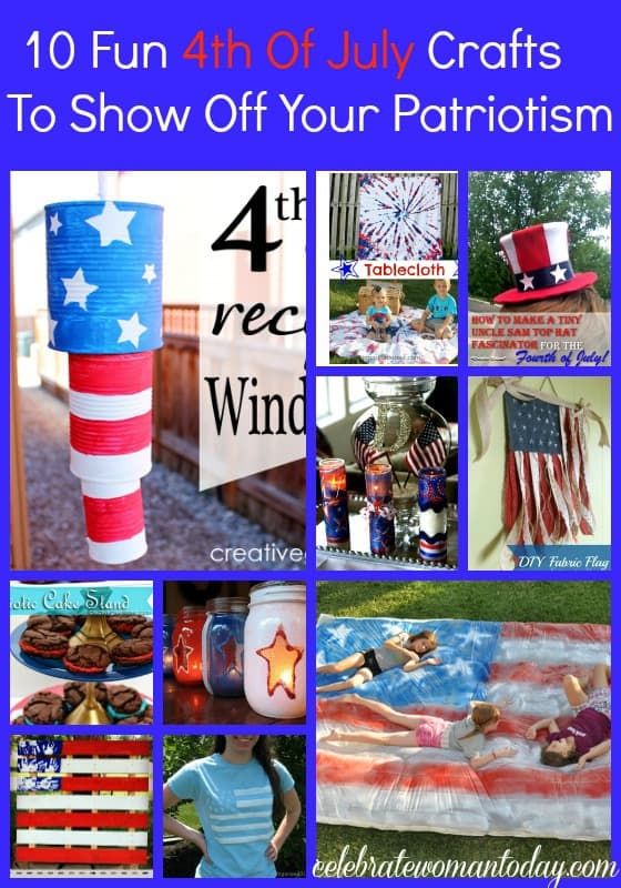 10 Fun 4th Of July Crafts To Show Off Your Patriotism